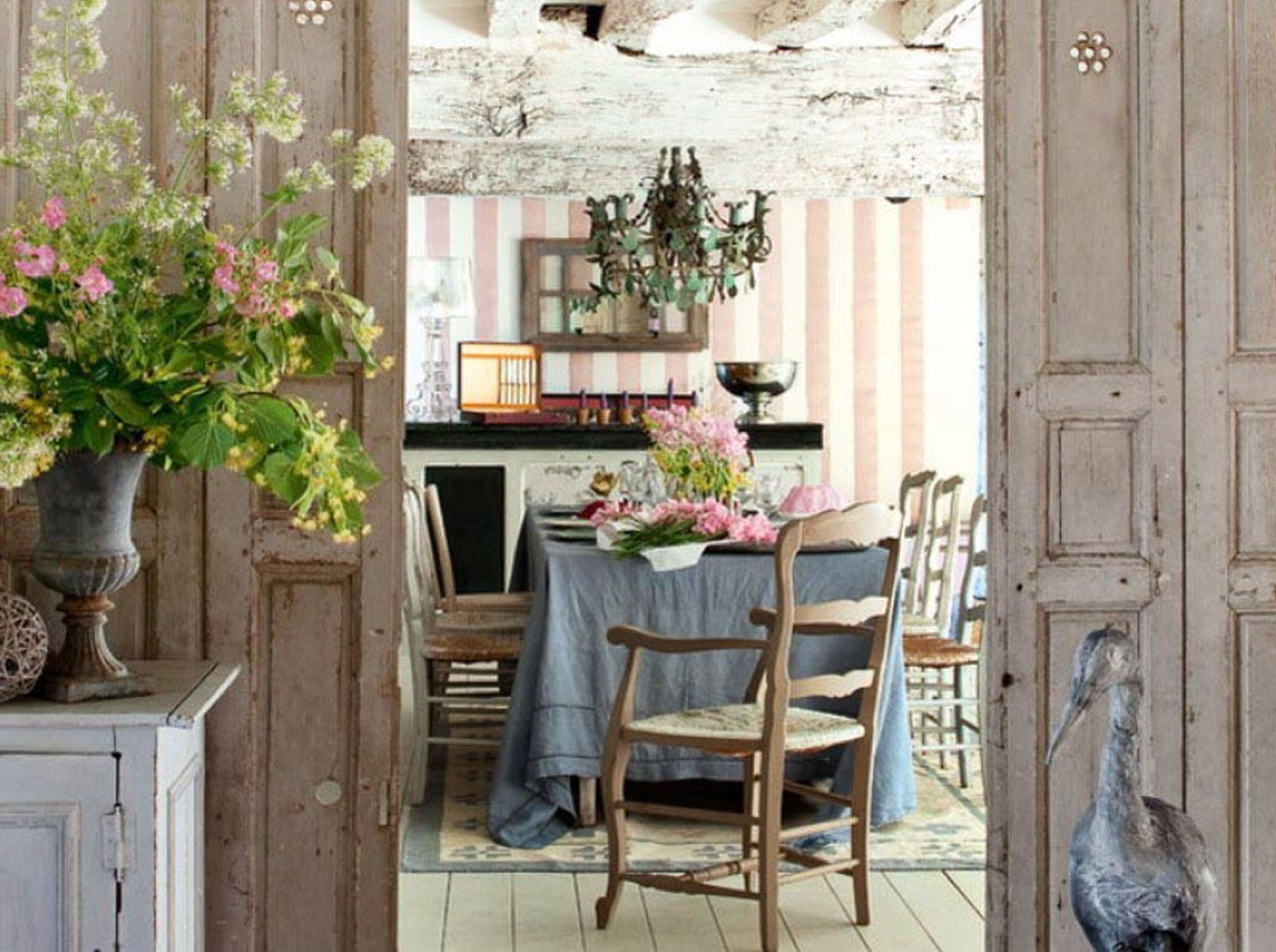 Bathroom:Charming Rustic French Dining Room Design Ideas