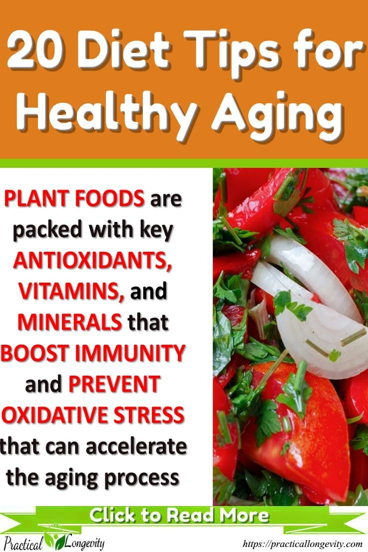 anti aging and. energy diet