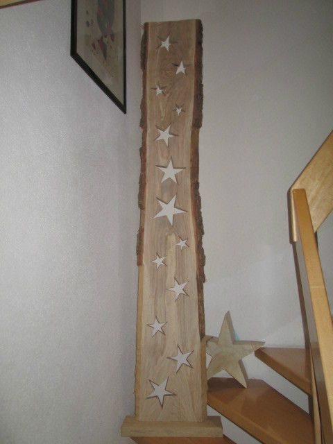 eiche holzbrett eiche 13 sterne 38cm x 3cm x 223cm sternbrett stern pinterest. Black Bedroom Furniture Sets. Home Design Ideas