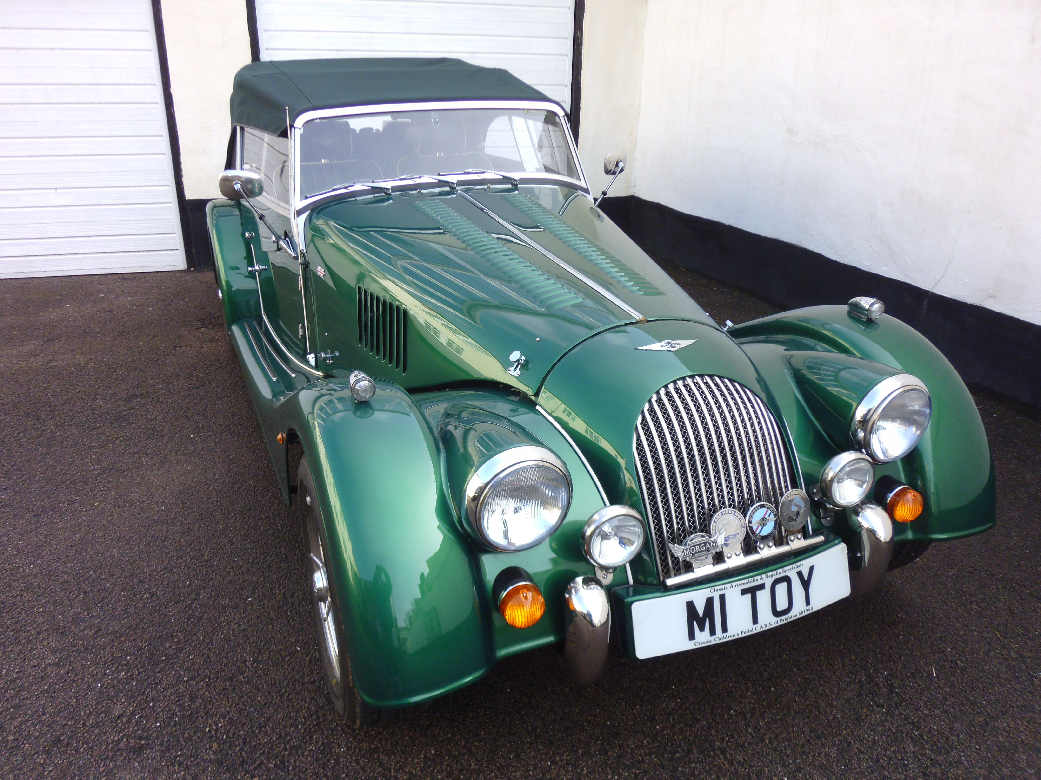 Morgan 4 Four Seater Aston Martin Ulster A Fine Limited Edition By