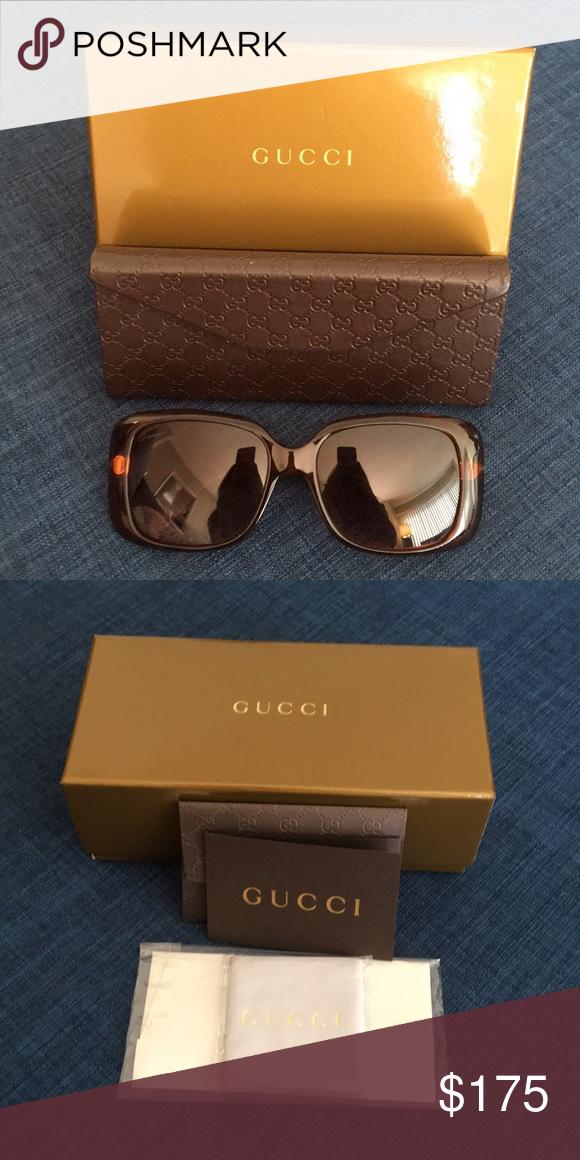 3b2491d2643 Authentic Gucci Sunglasses. Authentic Gucci Sunglasses comes with the original  case and authenticity card. Gucci Accessories Sunglasses