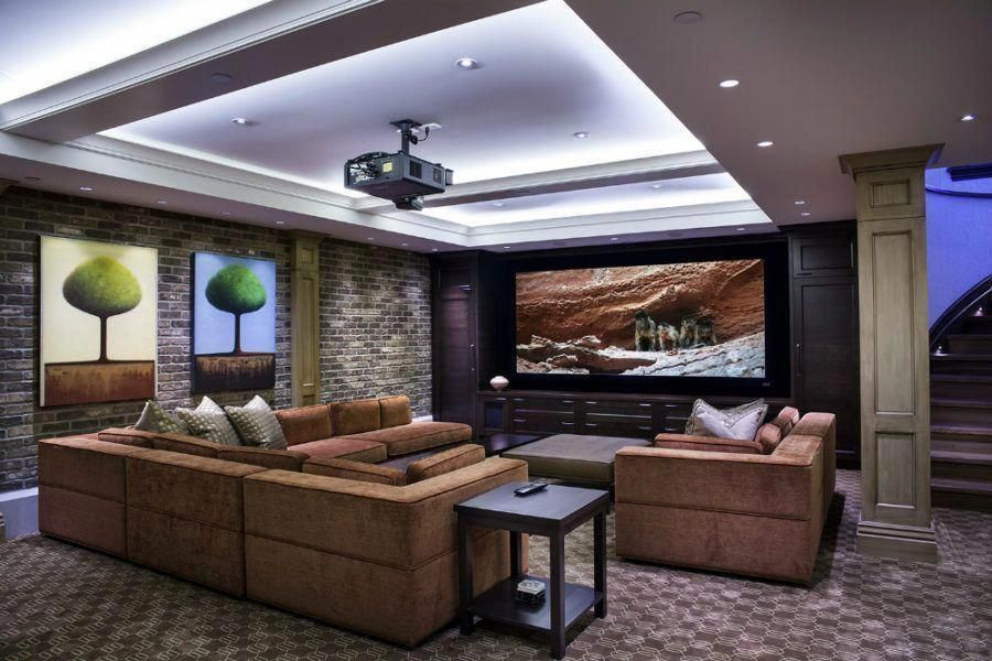 Basement Home Theater Ideas Diy Small Spaces Budget Medium Inspiration Tab Basement Home Theater Seating Home Theater Design Home Theater Setup