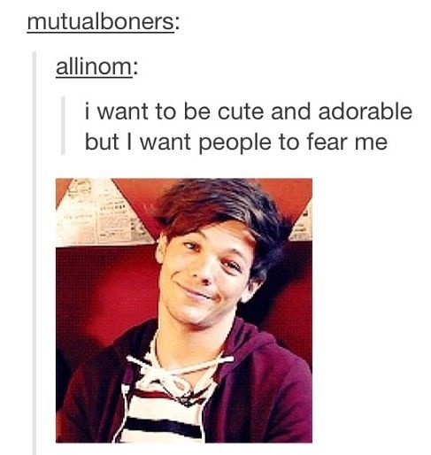 You just described Louis Tomlinson u ma deathly afraid of louis disapproving of my wardrobe... lmao