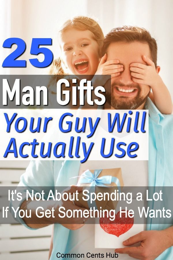 Don't just go to the mall and grab your guy some trinket. Here are inexpensive gifts that guys want and will actually use. And he'll think of you each time he uses it. Whether you're buying a gift for Dad, husband, boyfriend, brother, there's something here they'll use. #giftguide #gifts fathersday #giftsfordad #guygifts
