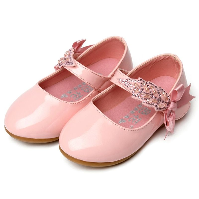 Cute Lovely girls shoes solid Genuine leather shoes kids hot sales baby  infant shoes high quality beautiful children sandals Review 21e30dc8ab04