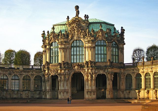 Zwinger In Dresden European Architecture Palace Garden Art And Architecture