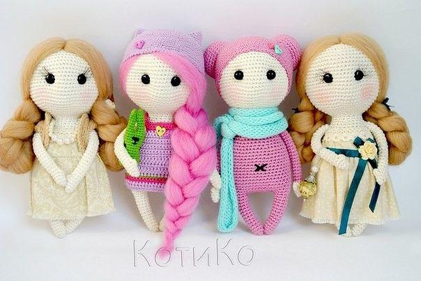 Amigurumi dulces muñecas-libre del patrón de Amigurumi - Patrones ...