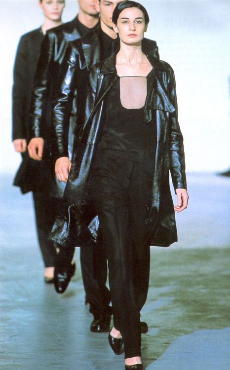 """ Helmut Lang Fall/Winter 2000 """