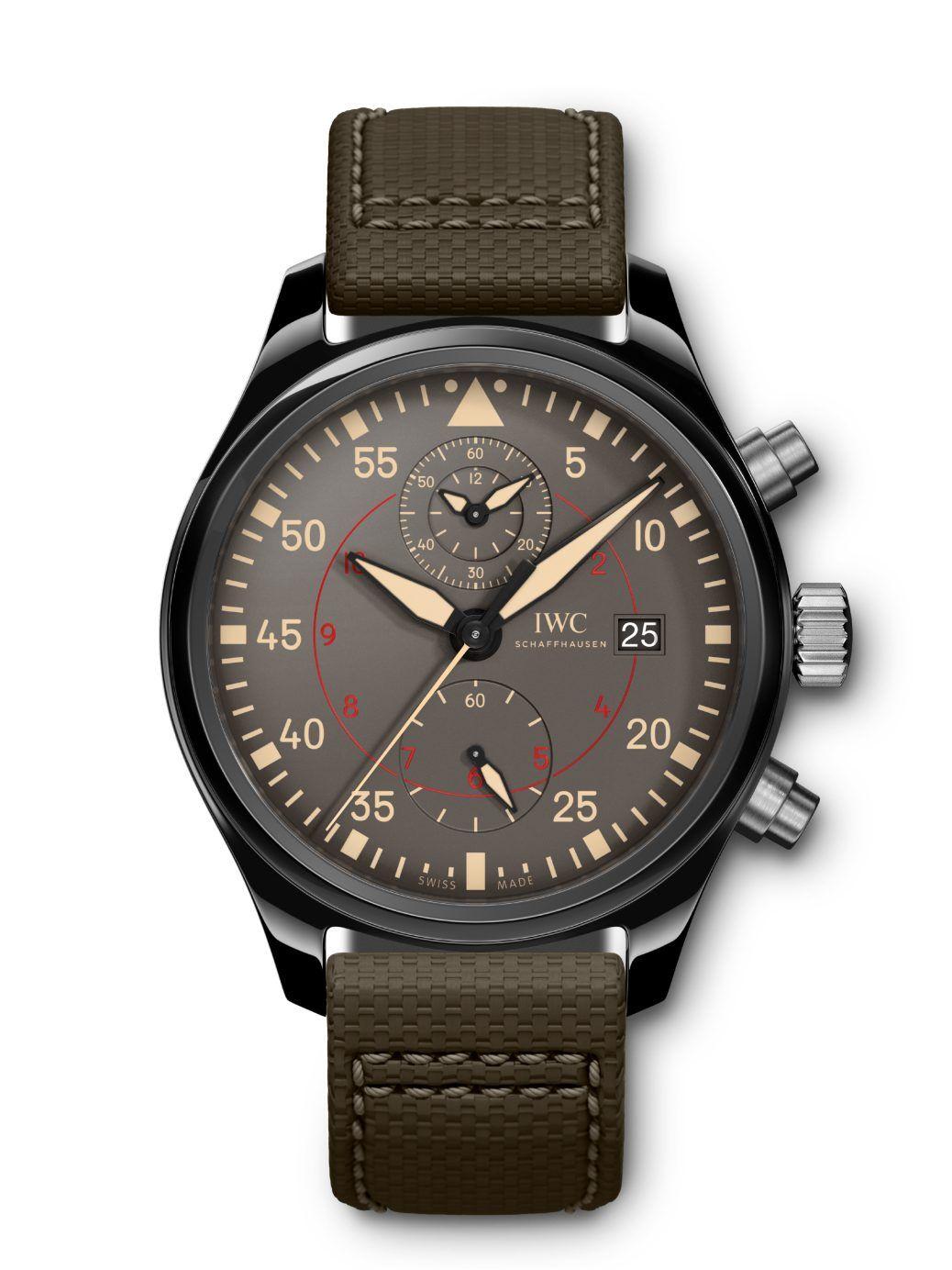 58a46ee0e109 IWC Pilot s Watch Chronograph Top Gun Miramar