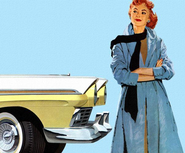 Mad Men on Wheels: Vintage Car Ads | Ford fairlane