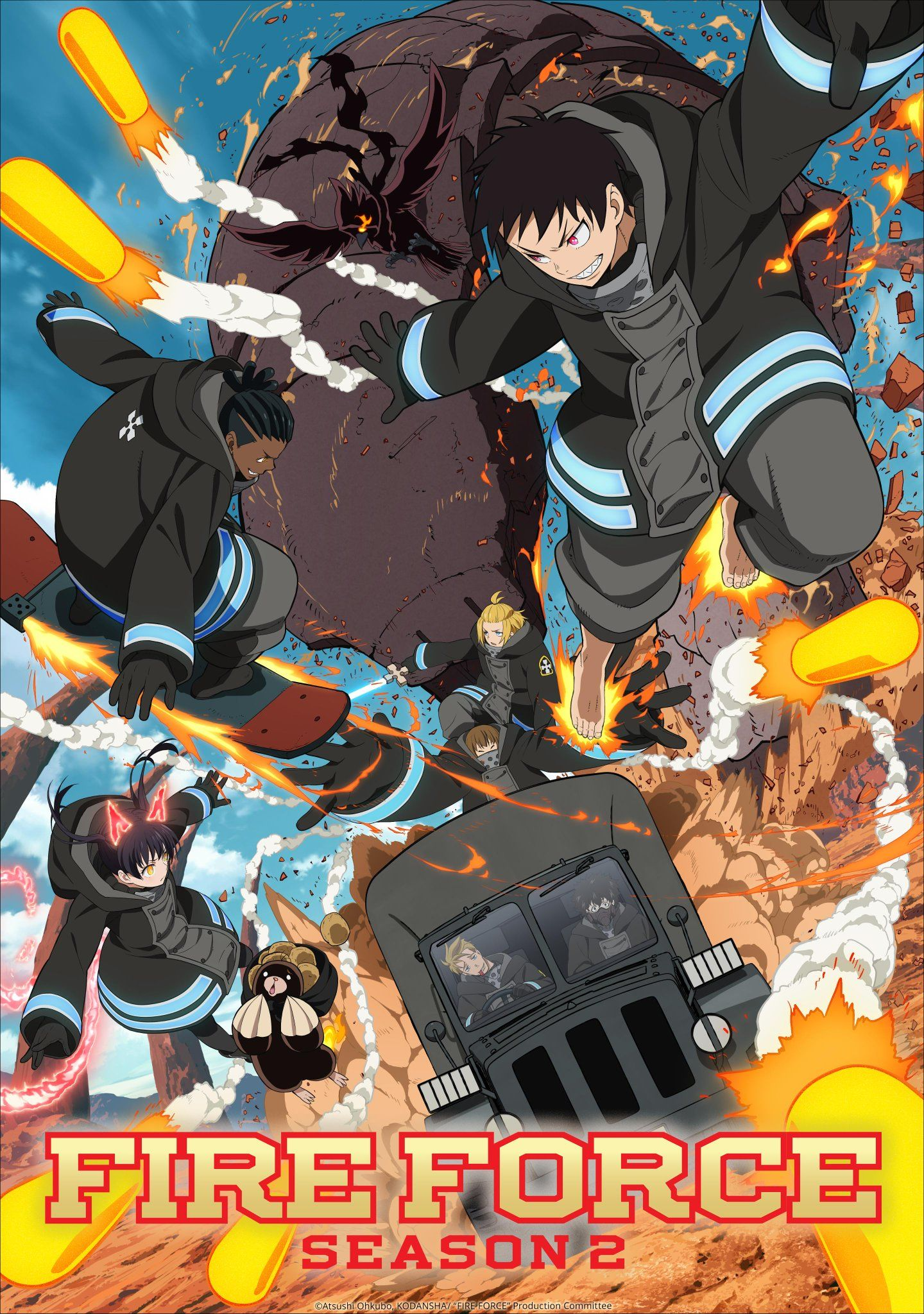 Funimation on twitter new fire force season 2 arc new