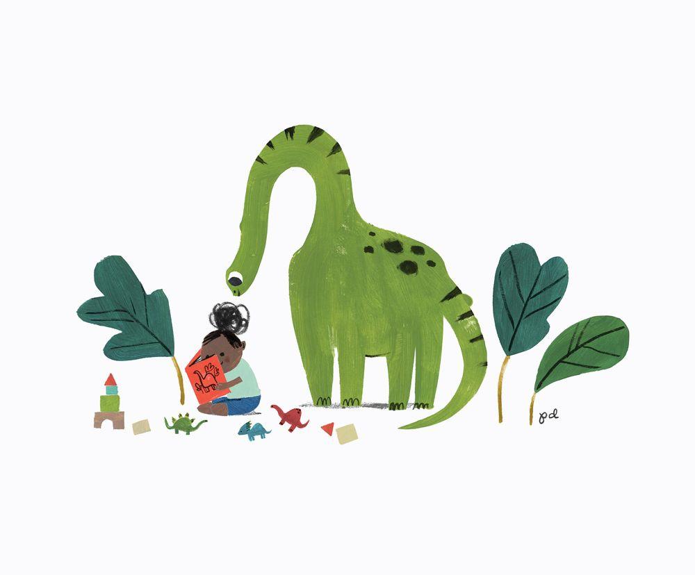 Penelope Dullaghan Friends Illustration Dinosaur Illustration Kids Style Illustration