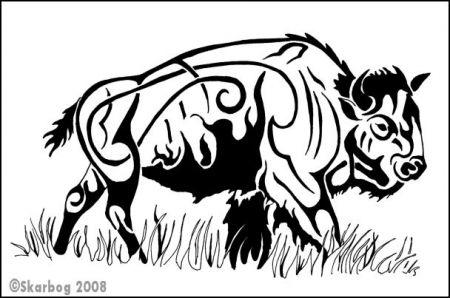 Bison Images Tribal Google Search Buffalo Tattoo Spirit Animal Art Buffalo Animal
