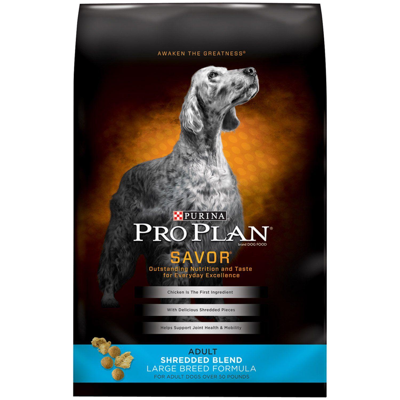 Purina Pro Plan Savor Shredded Blend Large Breed Formula With
