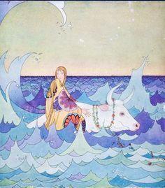 Ilustraciones de Virginia Frances Sterrett (1900-1931)