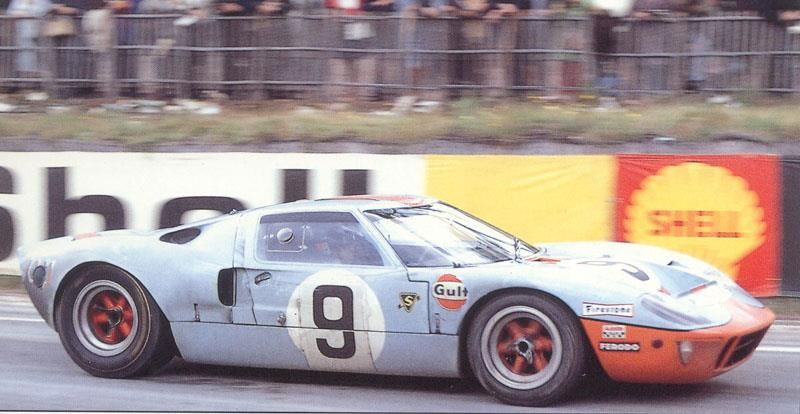 28 29 September 1968 Le Mans 24 Hours 9 Ford Gt40 Entered By John Wyer 1909 1989 And Driven To Victory By Mexican Pedro Rodriguez 1 Snelle Auto S Auto S