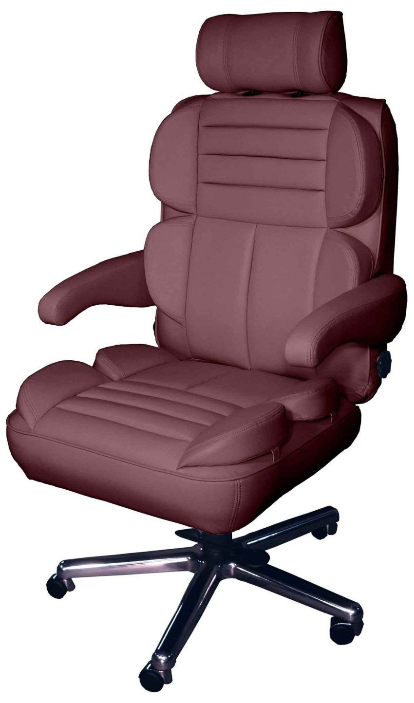 Leather Office Chair Arm Covers
