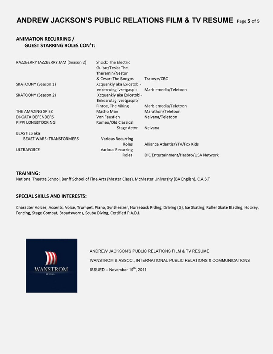 Public Relations Resume Example  Sample Resumes  Pr Resumes