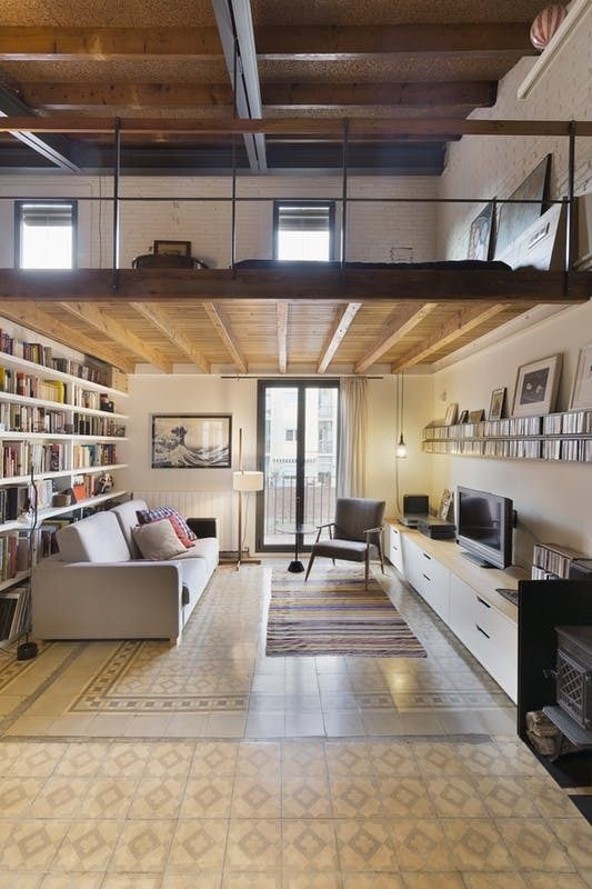This 1930s Attic Apartment Was In Rough Raw Shape When Purchased After Two Years Of Remodeling The Owner Turned Into A Beautiful And Welcoming E