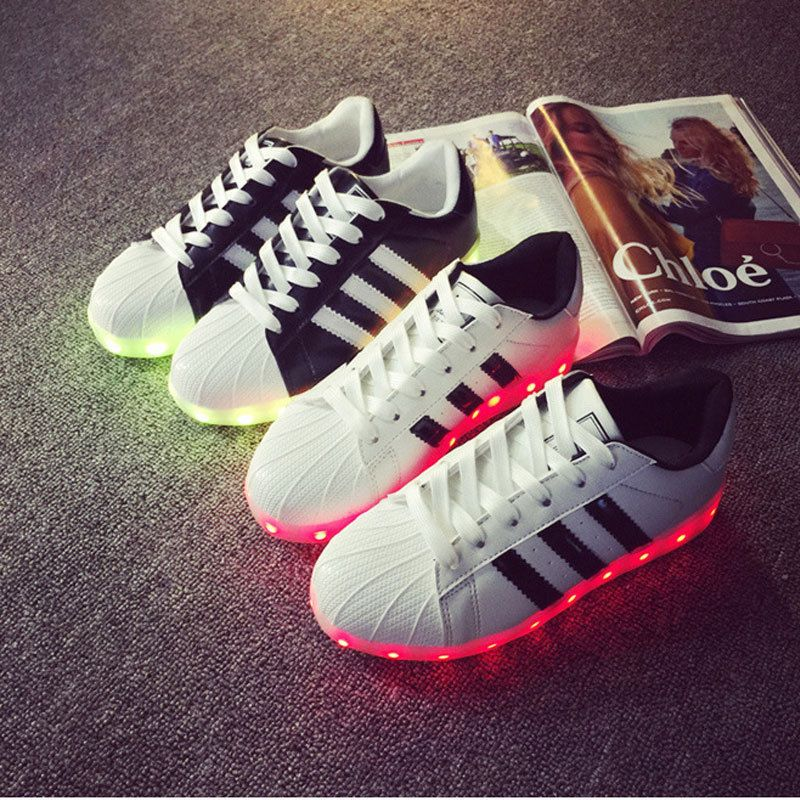 adidas led trainers uk