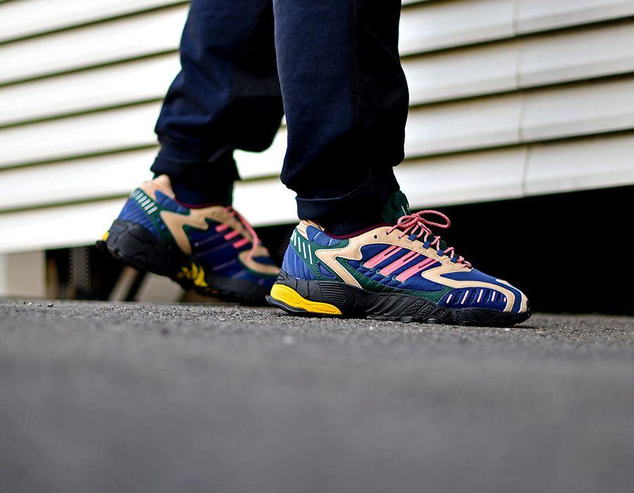 adidas Torsion TRDC Tech Indigo en 2020   Sneakers, Adidas