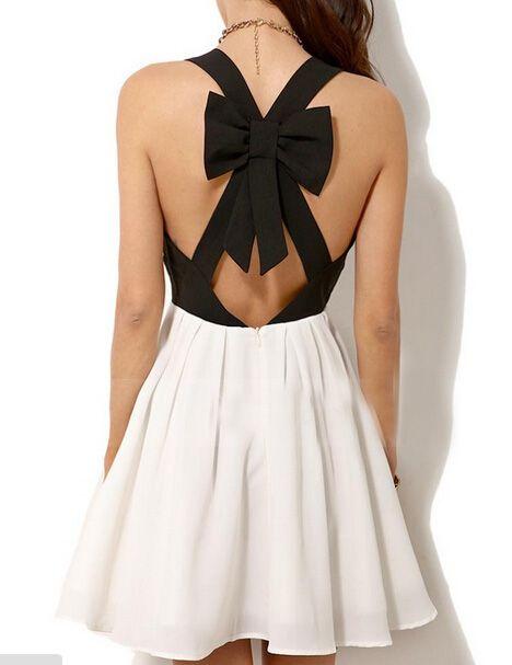 Sexy V-neck bow dress AX091412ax