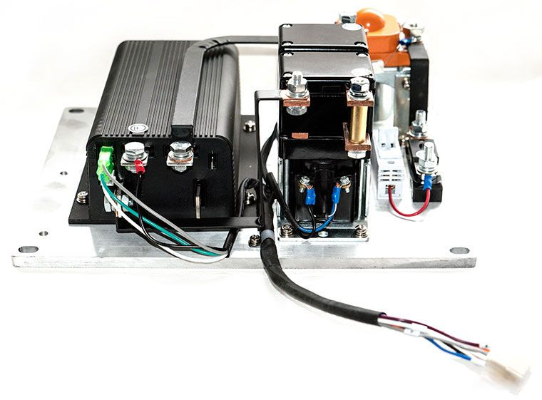 Programmable CURTIS Motor Speed Controller Assemblage, With 2-Wire 0