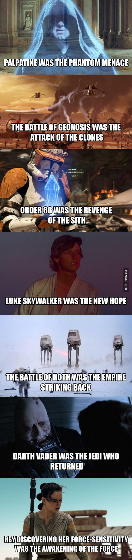 Interesting Star Wars Observations I Don T Agree With All Of Them But They Re Pretty Deep Funny Star Wars Memes Star Wars Humor Star Wars Memes