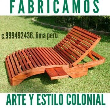 muebles para terrazas playa campo - Categoria Avisos Clasificados - sillas de playa
