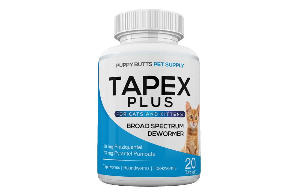 Tapex Plus Dewormer 20 Caps Tapeworm For Cats Similar to