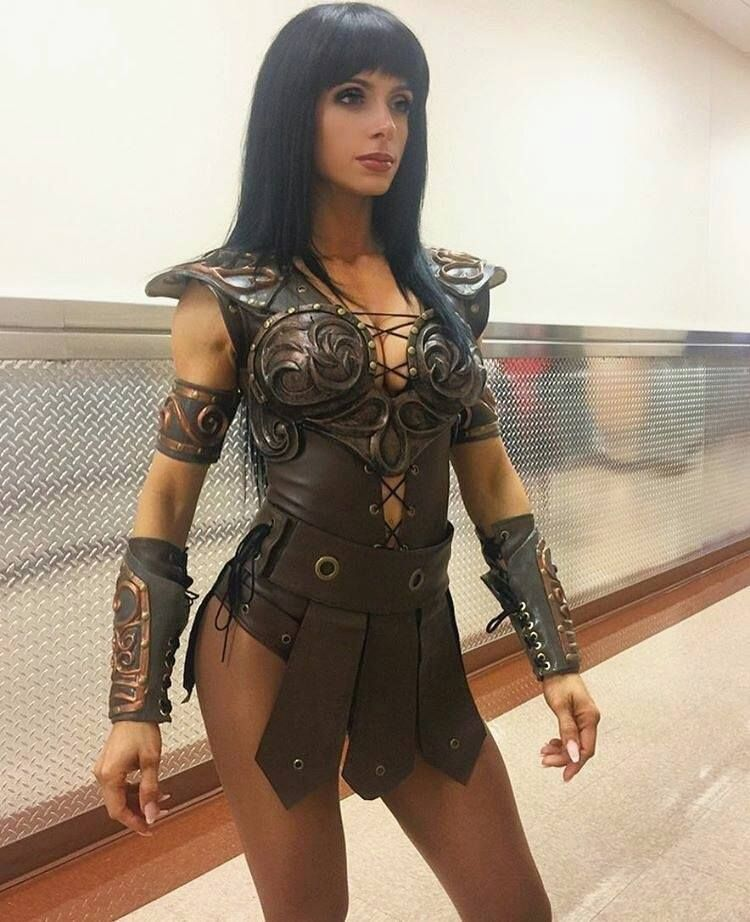 maquillage xena