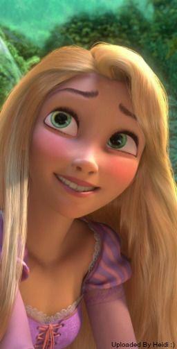 rapunzel trying to smile magic kingdom disney 2