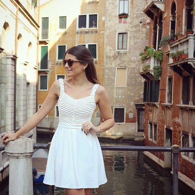 Branquinho com pérolas da minha coleção #unicasbyarianecanovas  #unicasviaja #italia #colecaovenezia #blogtrendalert