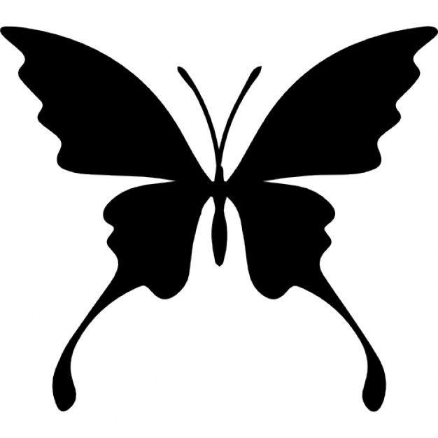R sultat de recherche d 39 images pour dessin silhouette papillon animaux dessin silhouette - Silhouette papillon imprimer ...
