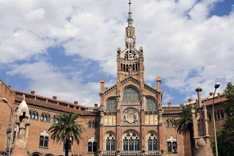 Palau de la Música Catalana and Hospital de Sant Pau, Barcelona, Spain