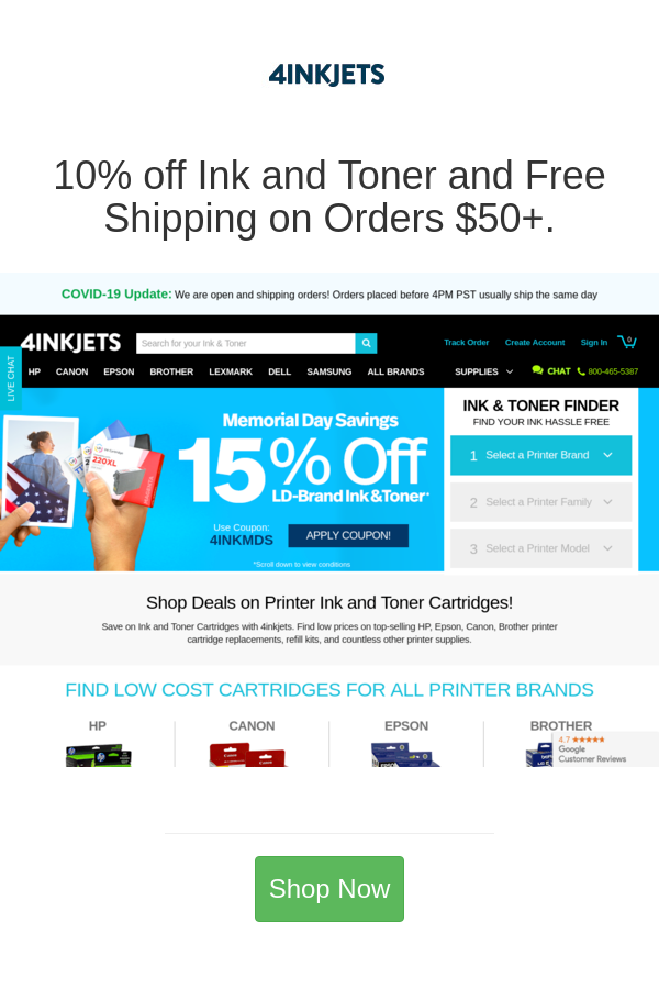 Best Deals And Coupons For 4inkjets In 2020 Discount Codes Coupon Toner Printer Ink Cartridges