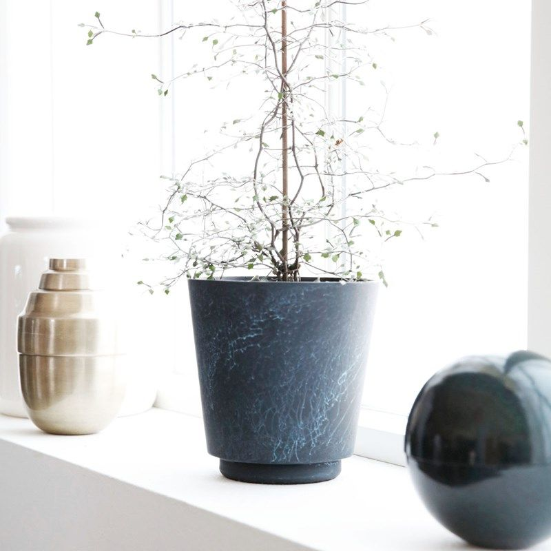 Marble effect flower pot from House Doctor | Our shop | Pinterest ...