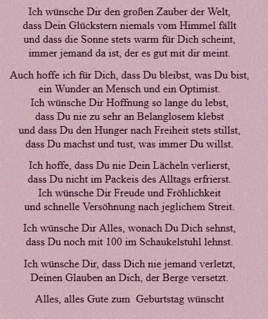 Gedicht Fur Tochter Von Mutter Verse Zum Geburtstag Geburtstag