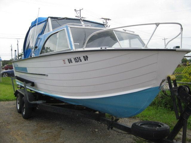 1973 Starcraft Boats Chieftain 21 For Sale In Lewis Center Oh 43035 Vintage Boats Glass Boat Cool Boats