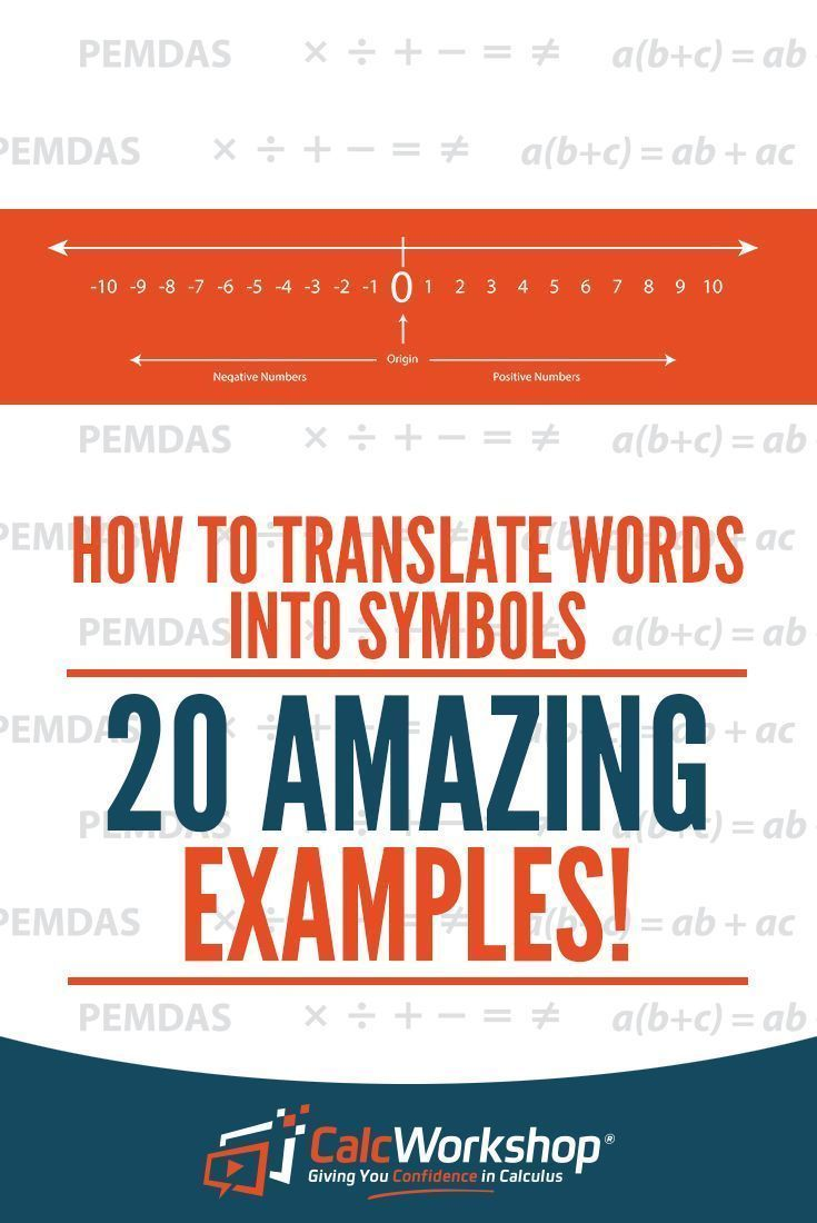 How To Translate Words Into Symbols 17 Amazing Examples