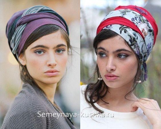 как завязать платок на голову солоха