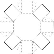 Modèle de boîte en papier, sans exemple (With images) | Hexagon box, Paper box template, Box ...