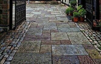 Outdoor Ground Tiles Patio