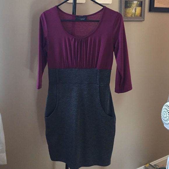 Small Hypnotik Dress Size small. Only worn once. Missing belt. Comfortable but professional. Hypnotick Dresses