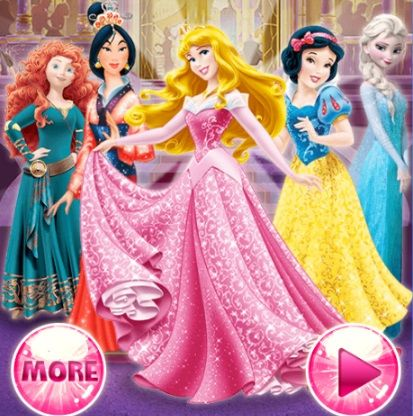 Которая из Диснеевских Принцесс Ты - играть онлайн ...