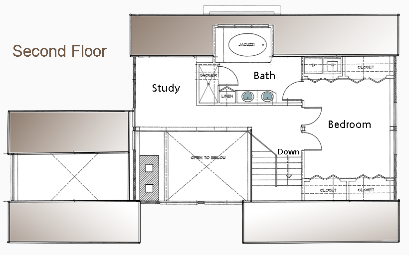 1700 SF MEEKS POINT GUEST HOUSE POST AND BEAM - GOOD FLOOR PLAN ...