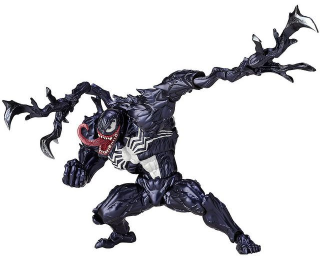 "6/"" Venom Revoltech Marvel Spider Man PVC Action Figure Toys Collection Gift"