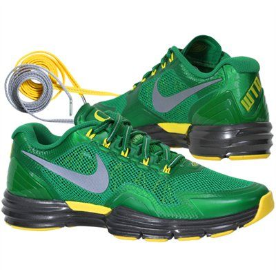 size 40 43bba b5ef7  goducks    Nike Oregon Ducks Lunar TR1 Sneakers - Apple Green