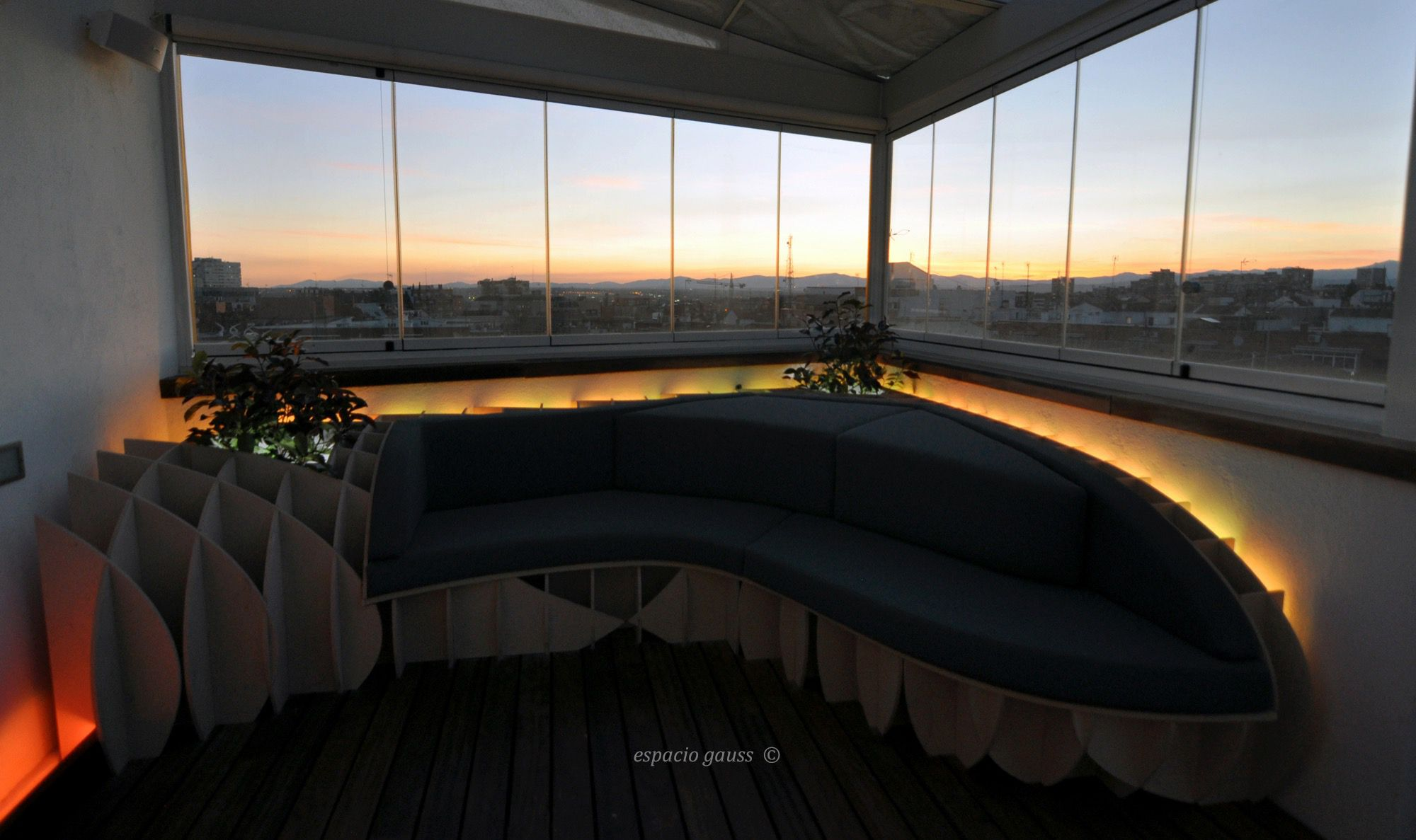 Madrid Rooftop Chillout Design Architecture Terraza