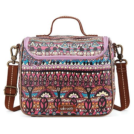 de38719b0 Sakroots Artist Circle Crossbody Cooler | Women's - Orchid One World - FREE  SHIPPING at OnlineShoes.com